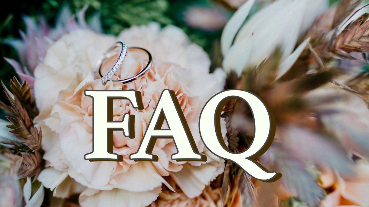Wedding FAQ