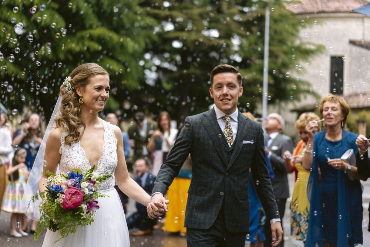 Real Wedding * From the Netherlands to Italy